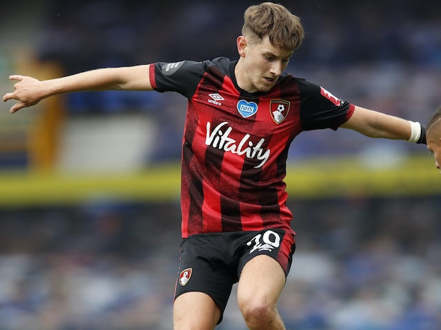 David Brooks in action for Bournemouth on July 26, 2020