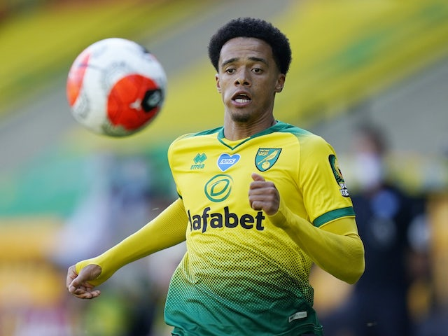 Norwich City's Jamal Lewis pictured in June 2020