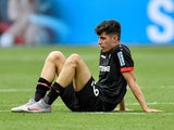 Bayer Leverkusen midfielder Kai Havertz pictured in June 2020
