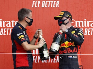 Max Verstappen beats Lewis Hamilton to win 70th Anniversary Grand Prix