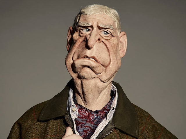 Prince Andrew on Spitting Image