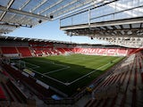 A general shot of Rotherham United's New York Stadium in February 2020