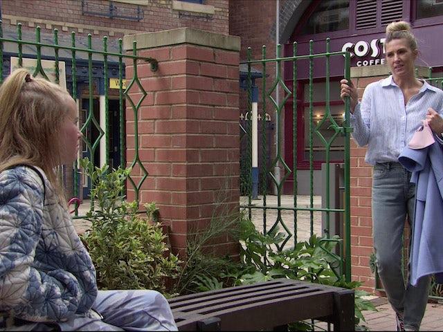 Gemma on Coronation Street on August 17, 2020