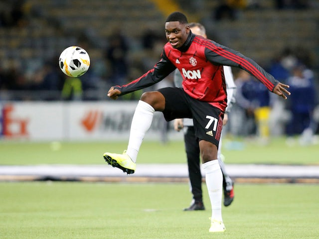 Man United's Teden Mengi out for season with hamstring injury