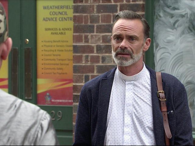 Billy on Coronation Street on August 19, 2020