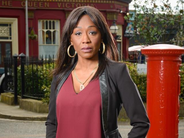 Diane Parish as Denise Fox in EastEnders