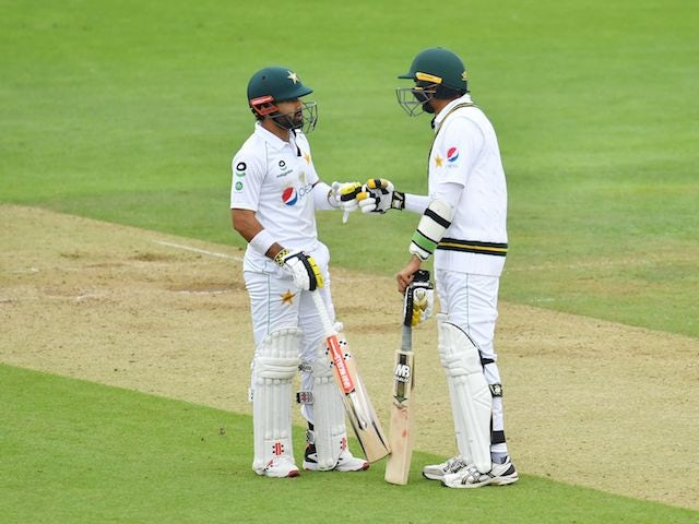 England frustrated by weather and Pakistan's Mohammad Rizwan