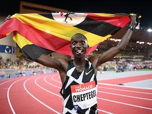 Joshua Cheptegei breaks 5,000m world record at Monaco Diamond League meeting