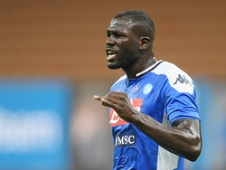 Napoli centre-back Kalidou Koulibaly pictured in July 2020