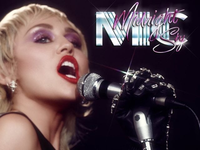 Miley Cyrus challenging for number one with Midnight Sky