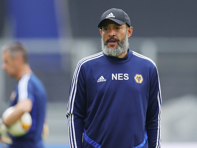Wolverhampton Wanderers manager Nuno Espirito Santo pictured on August 10, 2020