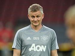 Manchester United manager Ole Gunnar Solskjaer pictured on August 9, 2020
