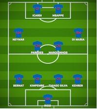 How Paris Saint Germain Could Line Up Against Rb Leipzig Sports Mole