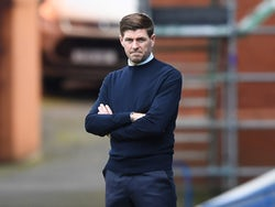 Rangers manager Steven Gerrard pictured on August 9, 2020