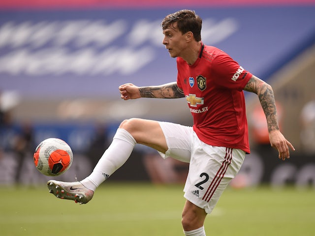 Manchester United defender Victor Lindelof pictured in July 2020