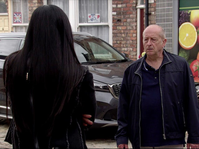 Geoff on Coronation Street on August 28, 2020