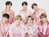 BTS, all in pink