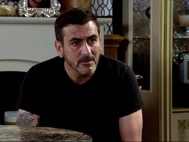 Peter on Coronation Street on August 26, 2020