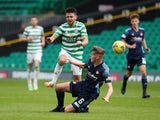 Celtic's Greg Taylor pictured against Hamilton in August 2020