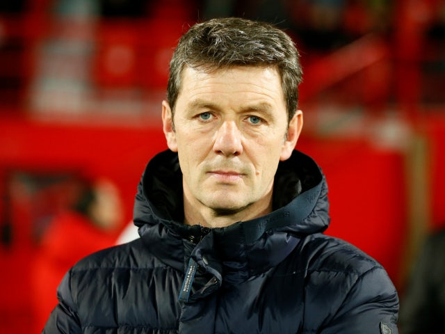 Dijon manager Stephane Jobard pictured in February 2020