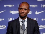 Barcelona sporting director Eric Abidal pictured in January 2020