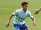 Luke Amos pictured for Queens Park Rangers in July 2020