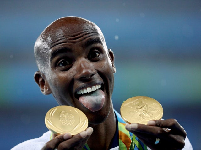 Picture of the Day - Mo Farah defends Olympic titles in Rio