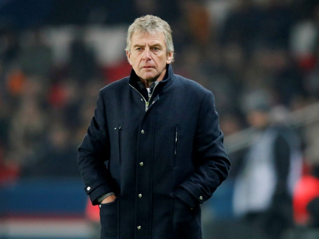 Nantes manager Christian Gourcuff pictured in December 2019
