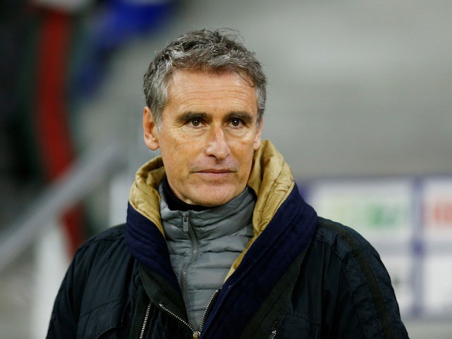 Brest coach Olivier Dall'Oglio pictured in January 2020