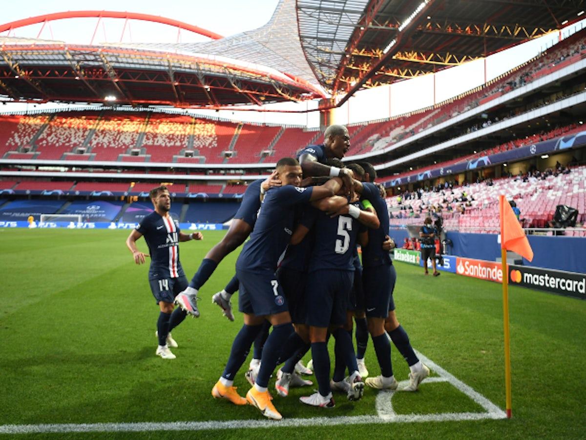 Result Paris Saint Germain Cruise Past Rb Leipzig To Reach Champions League Final Sports Mole