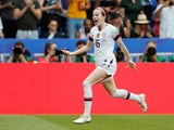 Rose Lavelle celebrates scoring for the USA in the 2019 Women's World Cup Final