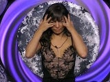 Roxanne Pallett during her ill-fated appearance on Celebrity Big Brother