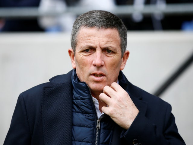 Strasbourg manager Thierry Laurey pictured in February 2020
