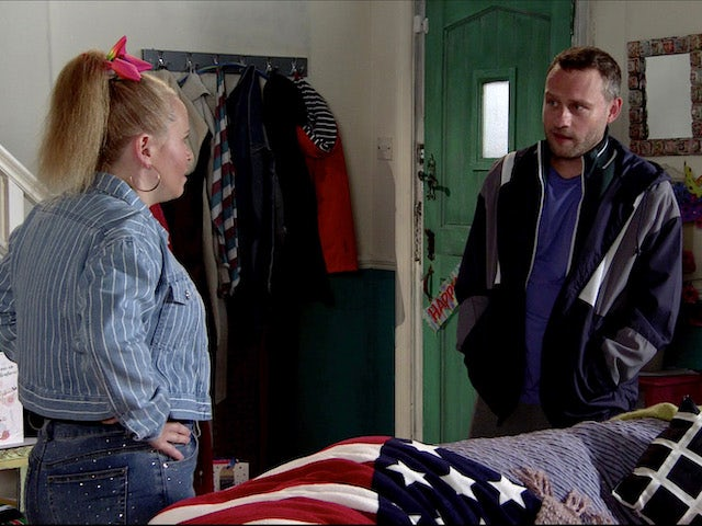 Paul and Gemma on Coronation Street on August 24, 2020