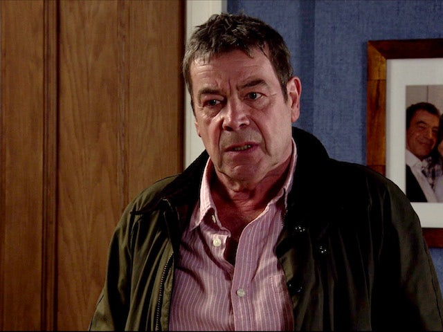 Johnny on Coronation Street on August 24, 2020