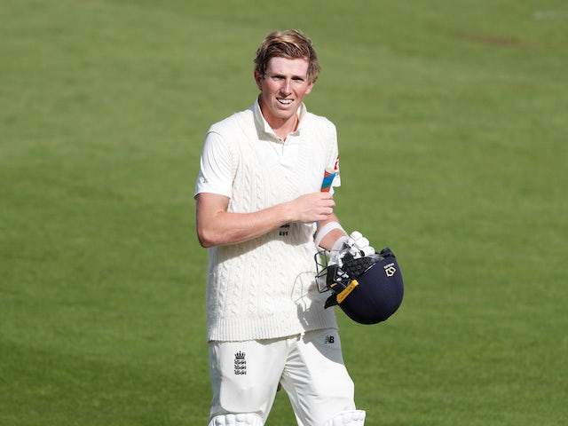 England's Zak Crawley fit and raring to go for third Test
