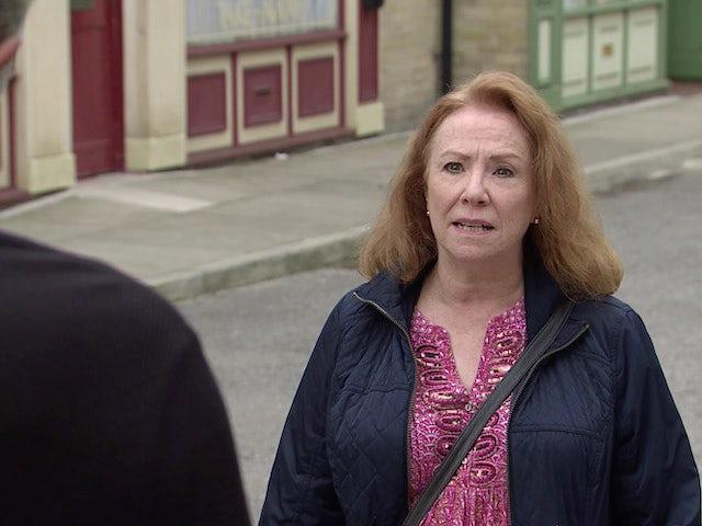 Cathy on Coronation Street on September 7, 2020