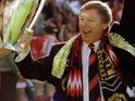 Alex Ferguson pictured in May 1994