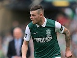 Anthony Stokes during his time at Hibernian in May 2016