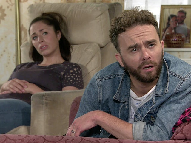 David and Shona on Coronation Street's second episode on September 11, 2020