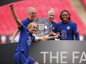 Chelsea Women claim Community Shield with two-goal victory at Wembley
