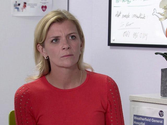 Leanne on Coronation Street's second episode on September 11, 2020