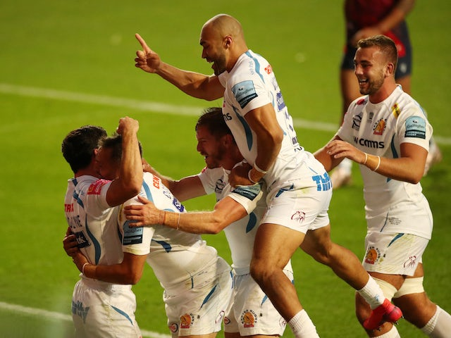 Result: Exeter Chiefs move 11 points clear with thrilling late win over Bristol