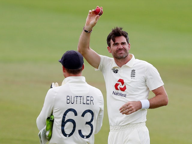 Cricket legends lead tributes to James Anderson after 600th Test wicket