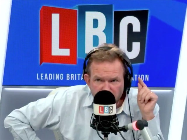 LBC presenter James O'Brien launches shock attack on own station