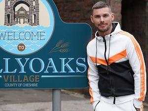 Kieron Richardson hoping Hollyoaks romance goes distance