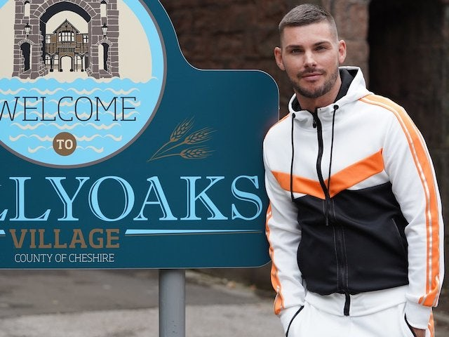 Hollyoaks shares first look at Kieron Richardson return