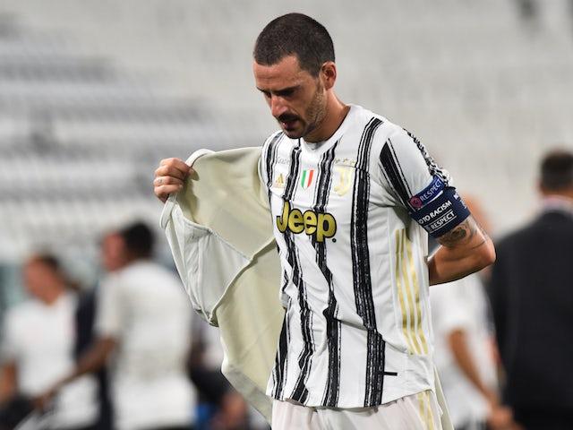Juventus defender Leonardo Bonucci pictured in August 2020