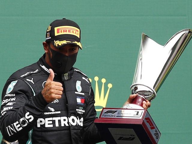 Lewis Hamilton: 'It's not my fault I'm so far ahead of rivals'