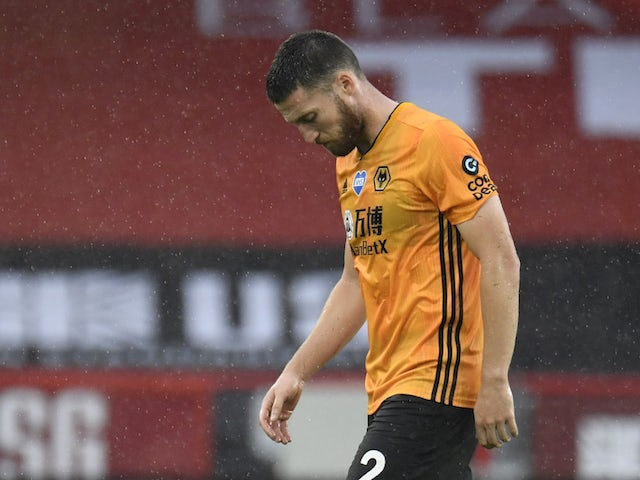 Matt Doherty pictured for Wolves in July 2020